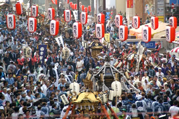 黄門 祭り